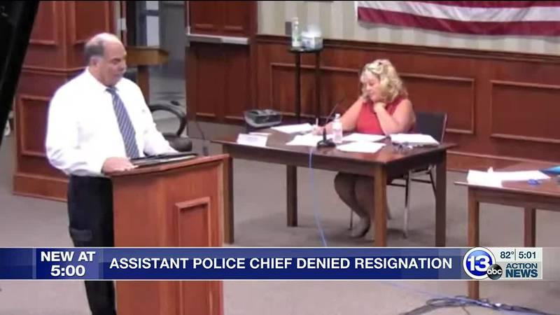 Bryan Assistant Police Chief Denied Resignation