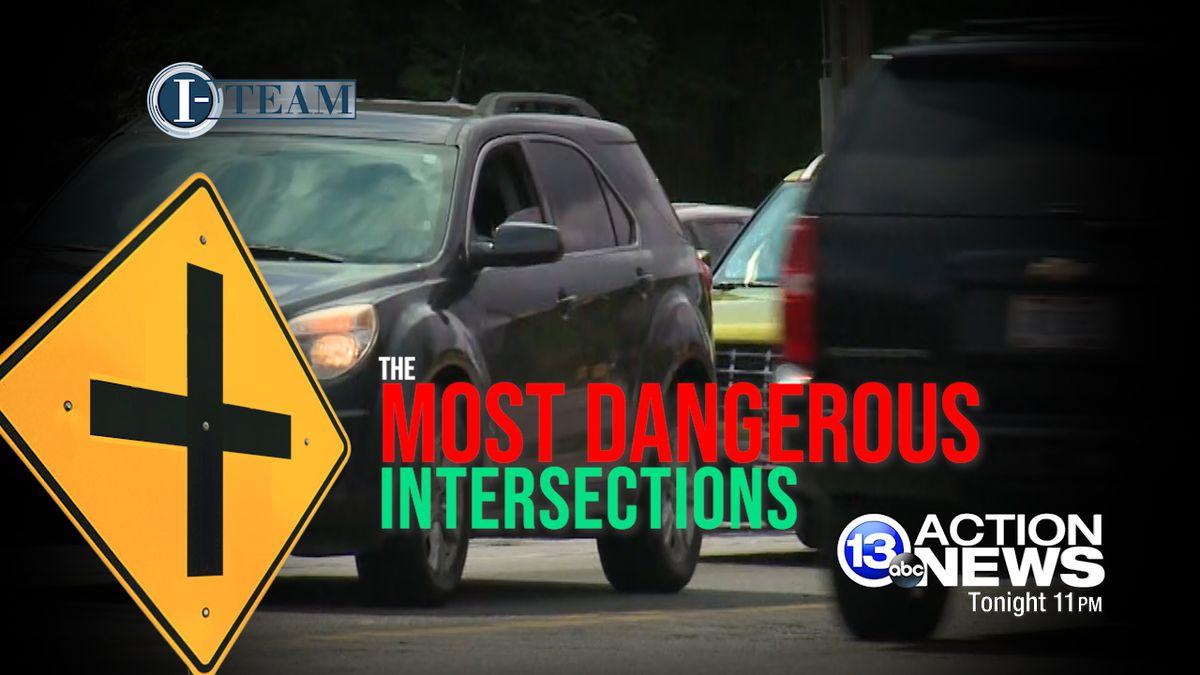Worst intersections in Toledo