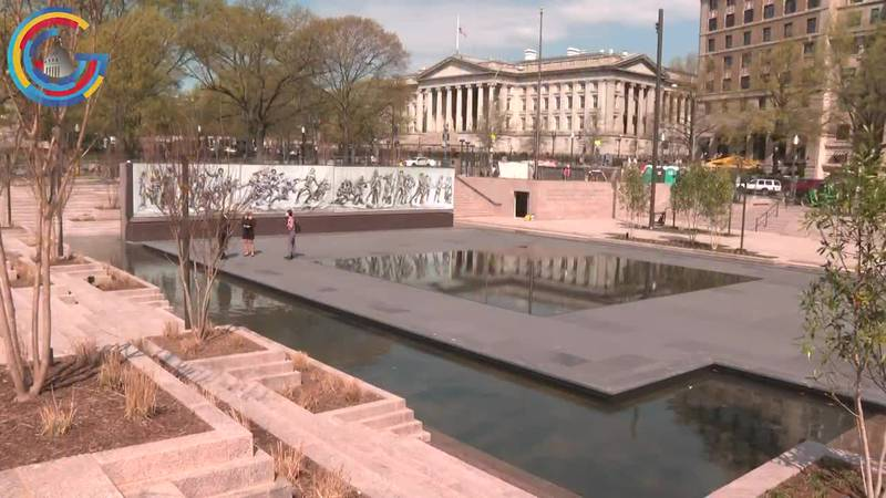The new National World War I memorial is being unveiled in Washington, DC this week.