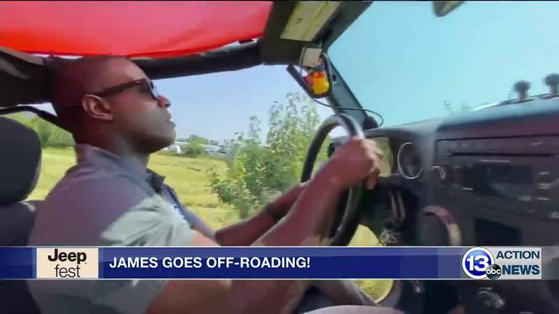 James Starks goes off-roading