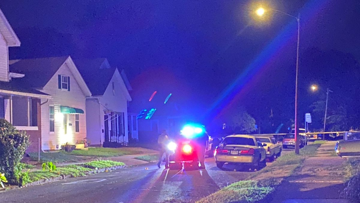 One person was sent to the hospital after a shooting on Pinewood.