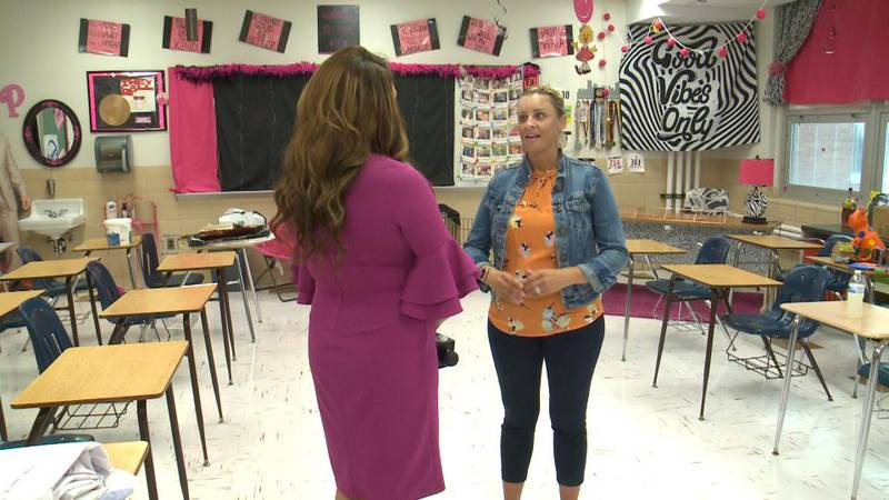 Dr. Katie Peters says there are ways to support students as they head back to class