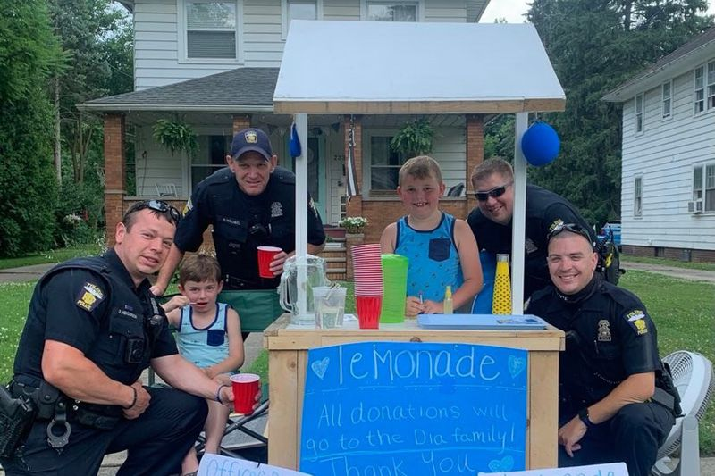 A Toledo boy, Max is holding a hot cocoa sale this weekend to benefit fallen TPD Officer...