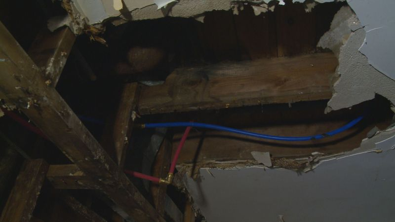 Local contractors help woman who dealt with a home repair disaster.