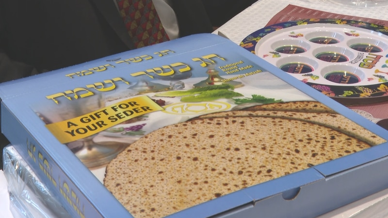 Jewish community won't let pandemic stop them from joining in Passover celebration.