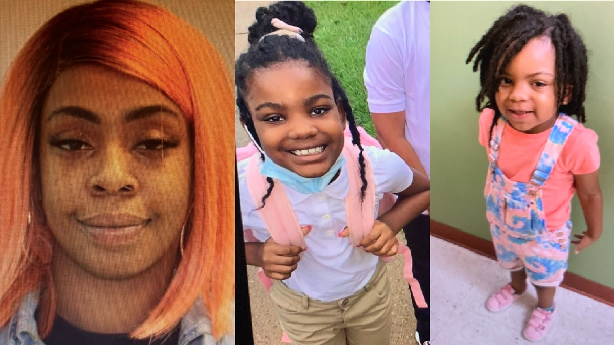 TPD: The last known location of Trinity Williams, 9, Destiny Jackson, 3, and Deasia Williams,...