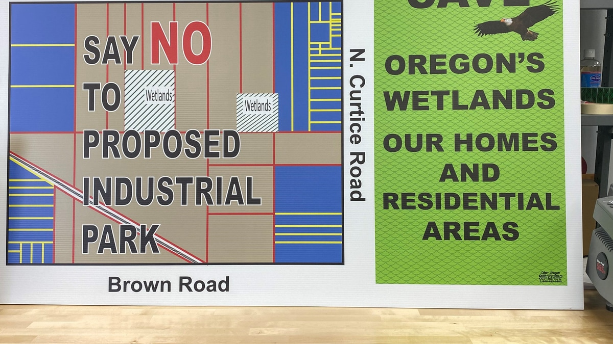 The city is looking at a more than 400 acre piece of land by the intersection of Curtice Road...