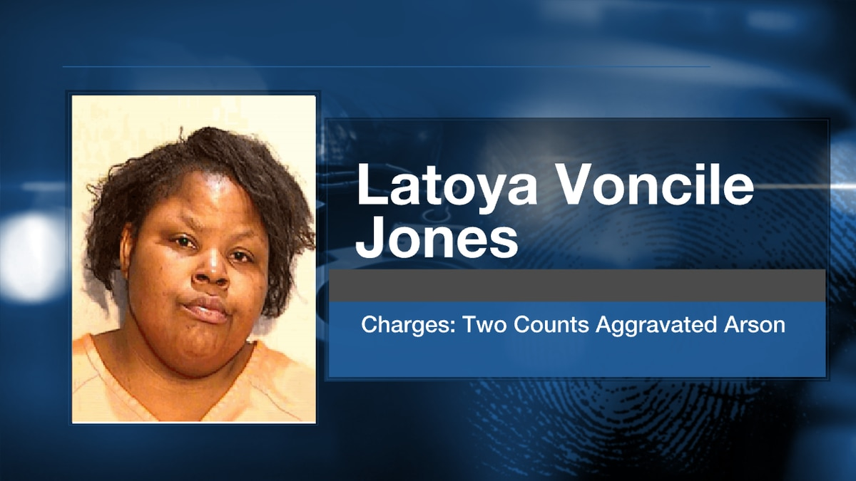 Court records indicate that Latoya Jones told fire investigators that she set a home on fire...