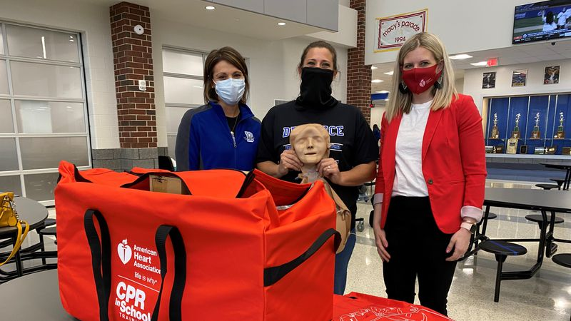 Staff with Defiance High School are expanding their efforts to teach students life-saving CPR...