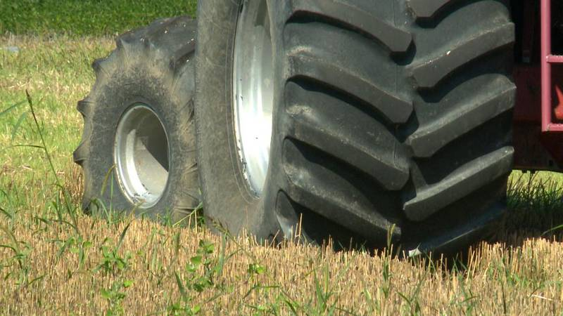Heat wave hurting some crops