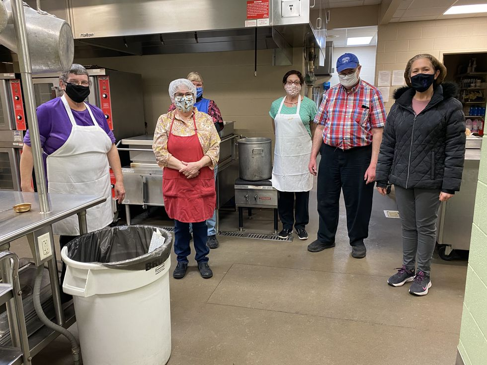 Every weekday Meals on Wheels staff come in at 6 a.m. to prepare and prep each day's meal, the...