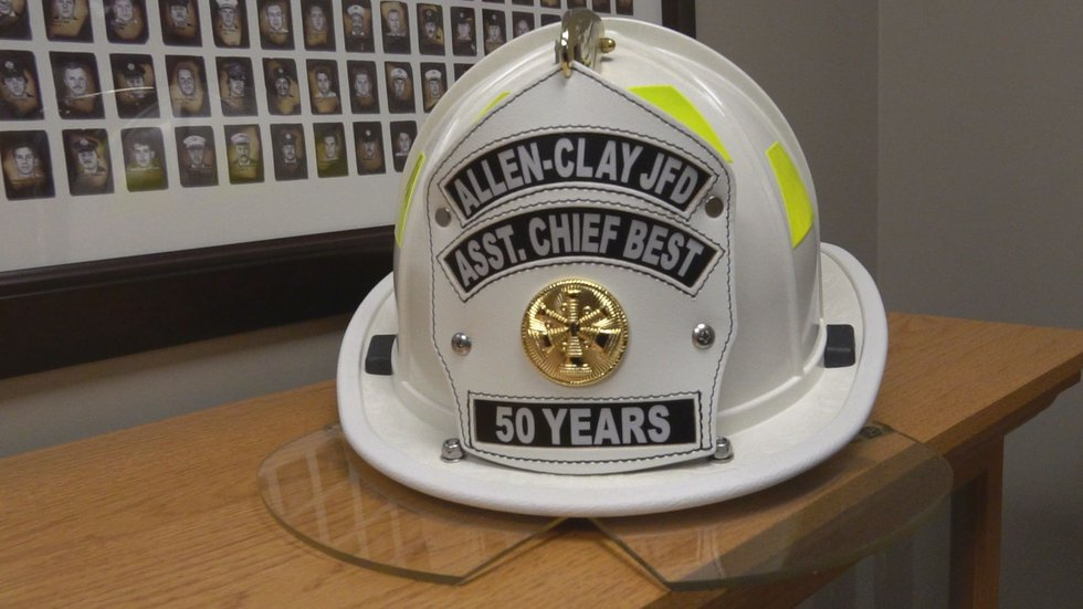 Pvt. Michael Best, who once served as Assistant Chief of the Allen-Clay Joint Fire District,...
