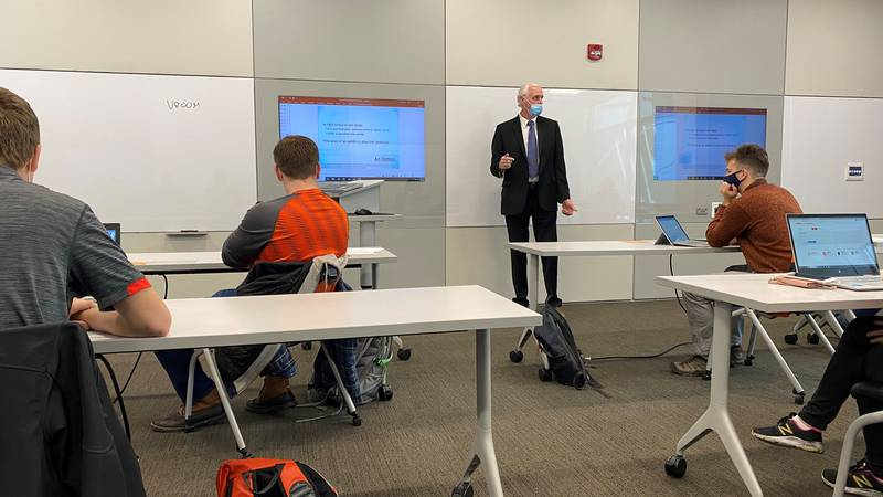 University of Findlay economic students are learning about cryptocurrency, a completely virtual...