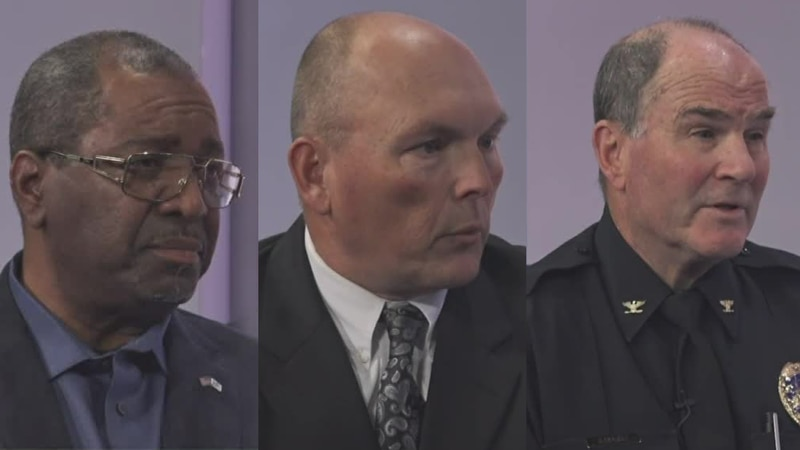 (Left to Right) Earl Mack, Brett Warner, and Mike Navarre appear on Conklin and Company to...