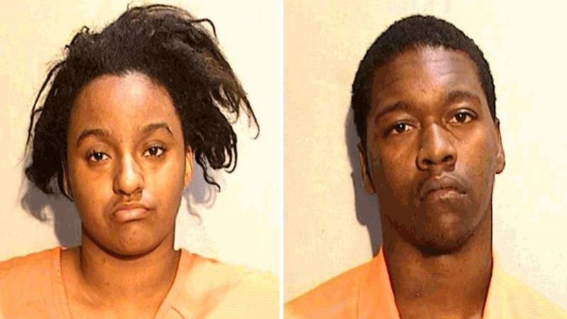 Sheniah Freeman, left, and Kevondre Walton are facing charges after the allegedly hit a...