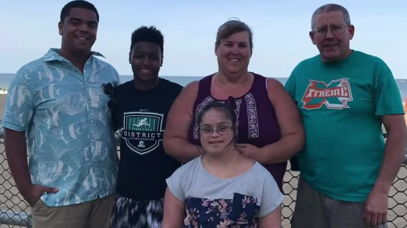 Adopt America Network's featured family for 2020: The Housleys