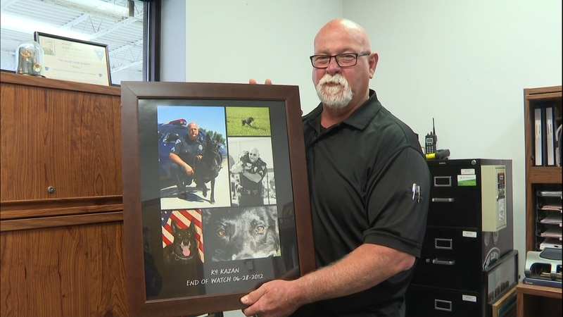 Chief Hickman is retiring after nearly 40 years on the force.