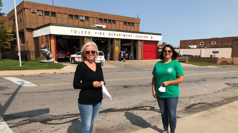 The two were the first married couple to work at TFRD, and she was one of the city's first...