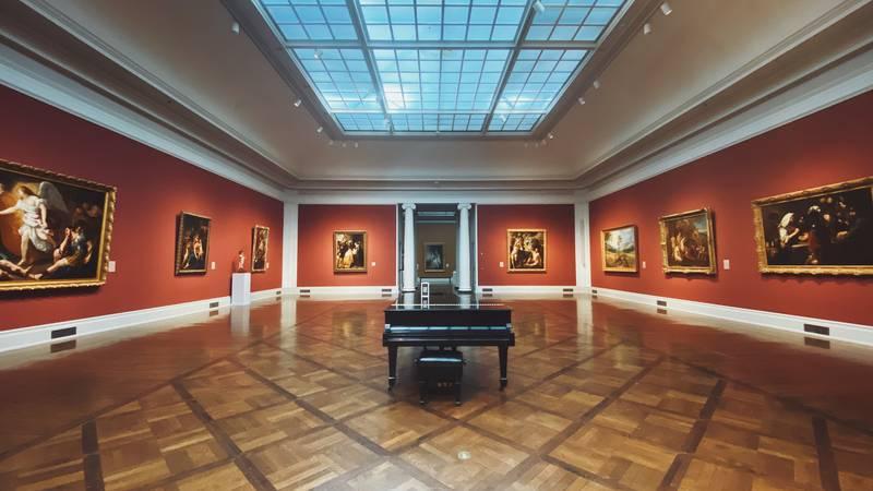 The Toledo Museum of Art in Toledo, Ohio.