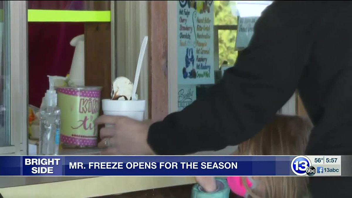 Mr. Freeze opens for the season