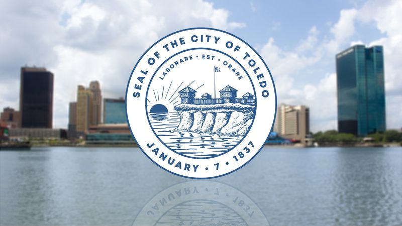 The Seal of the City of Toledo, Ohio.